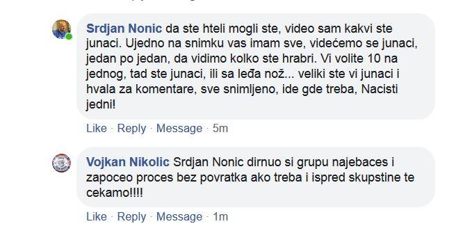 Nacisti uputili pretnje odborniku Srđanu Noniću