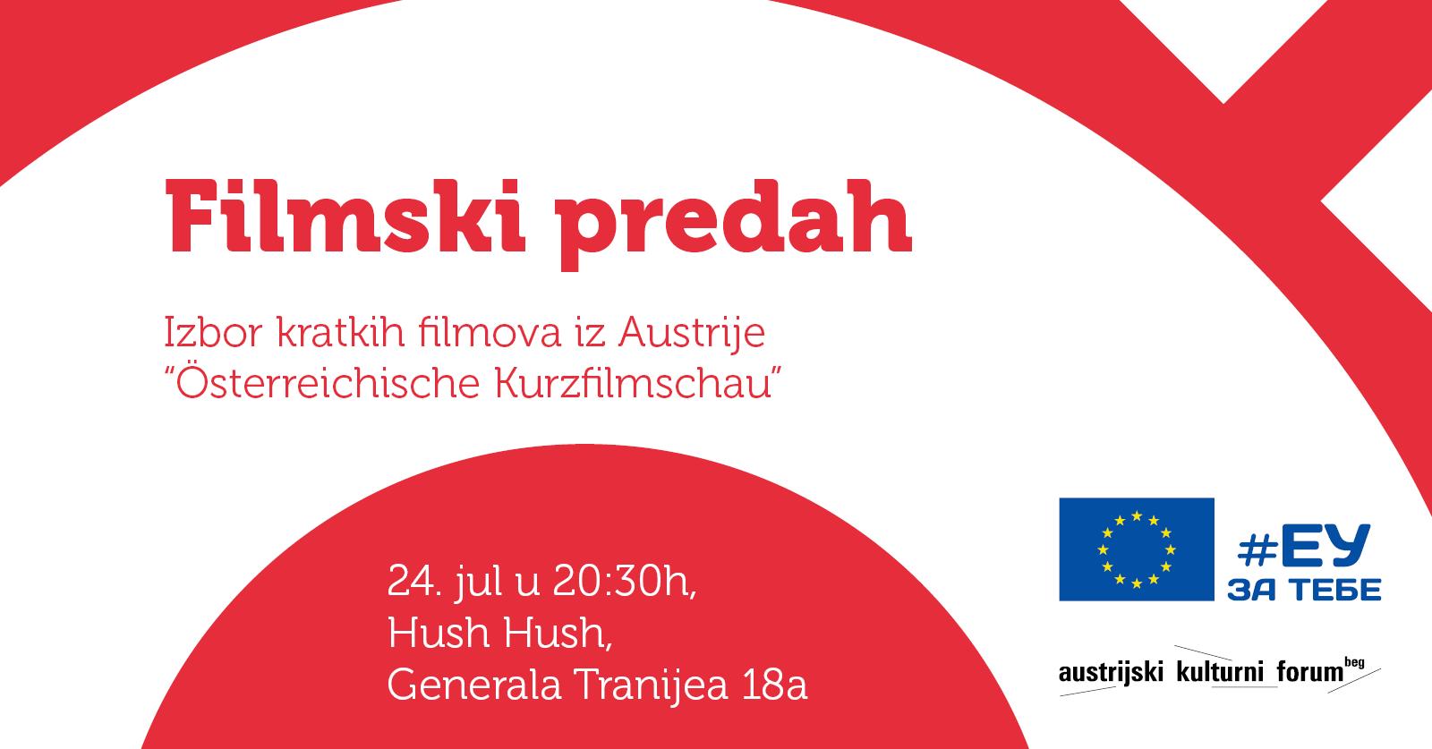 Kratki filmovi iz Austrije pred niškom publikom