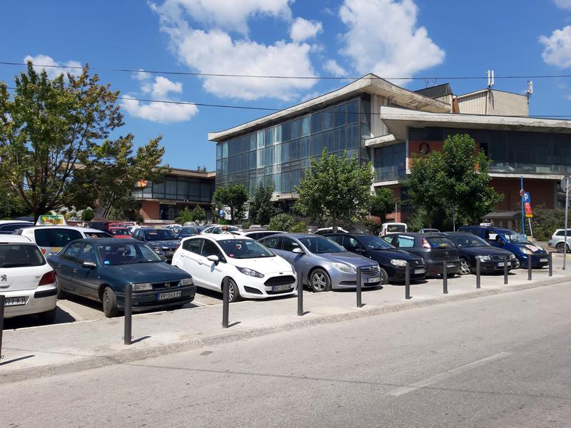 Uskoro savremen parking kod Robne pijace