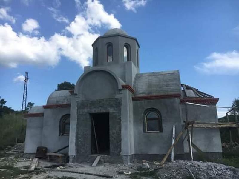 Crkva Svetog Pantelejmona u selu Gazdare uskoro gotova