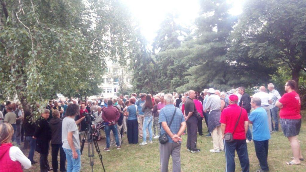 Meštani Dubočice i danas protestovali