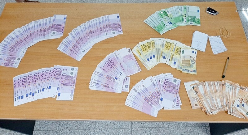 Zaplenjeno 66.500 evra