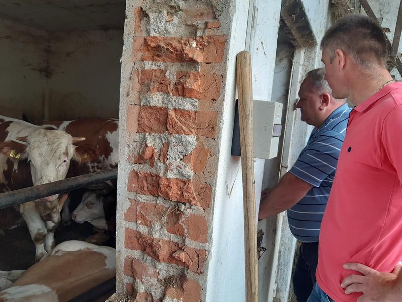 Gradonačelnik obišao stočara koji je u subotu potražio njegovu pomoć