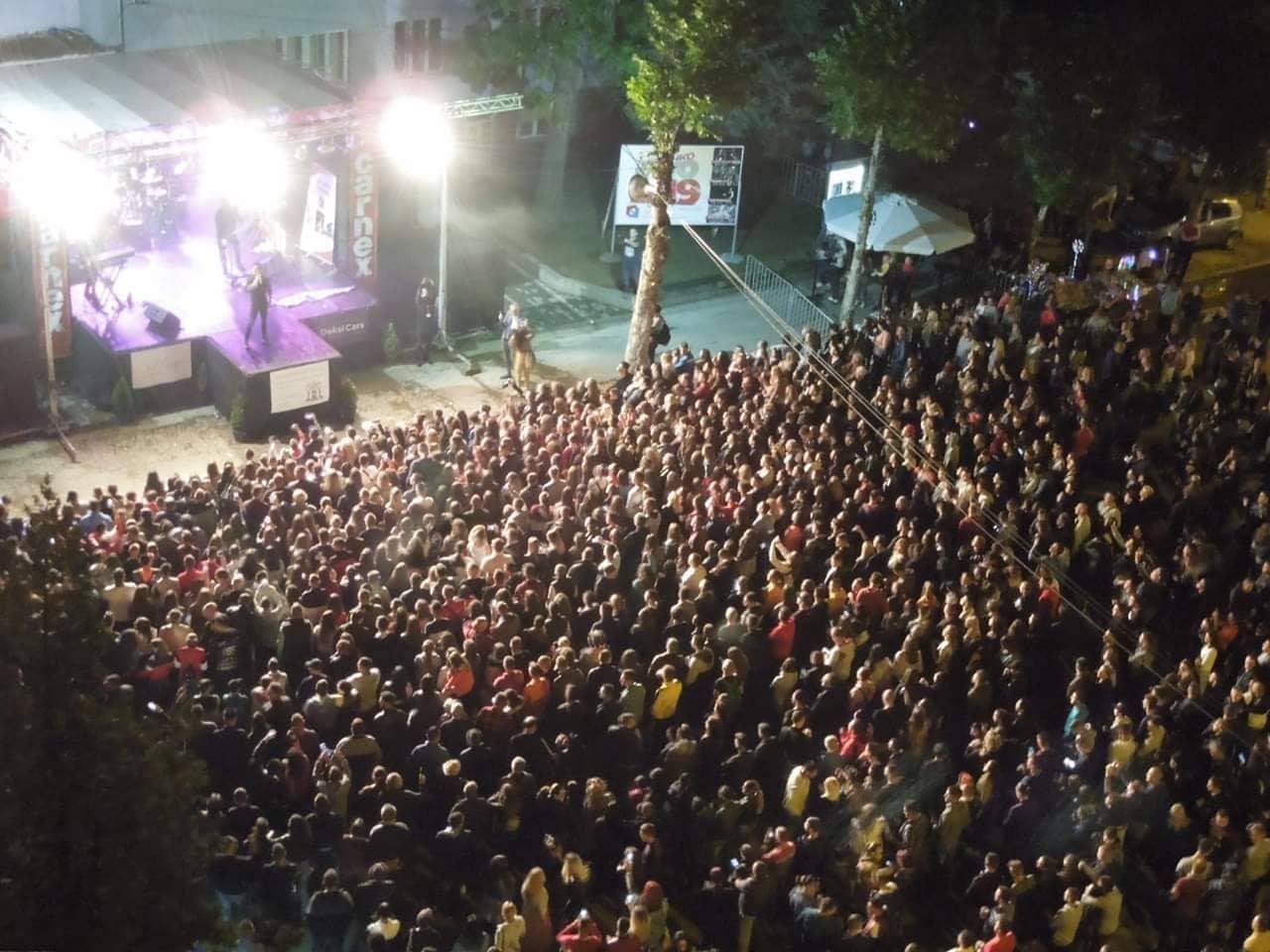 Hiljade Grdeličana na koncertu Amadeusa