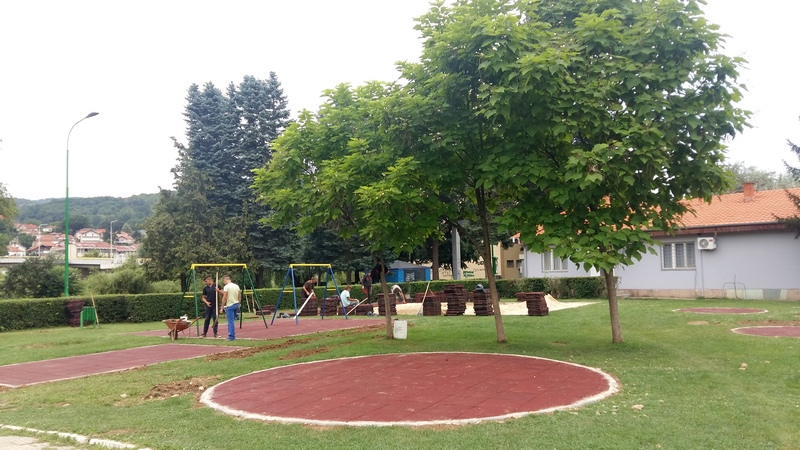 Renovira se kutak za mališane u Sportskom centru