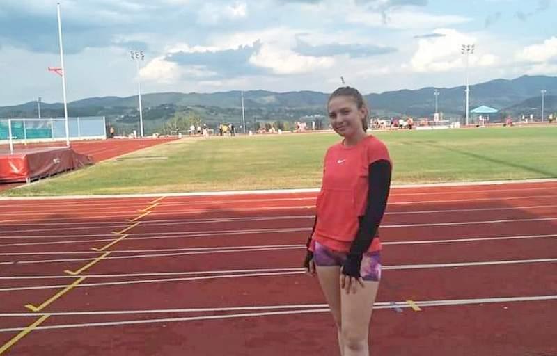 Mariji Papović drugo mesto na kupu Srbije u atletici