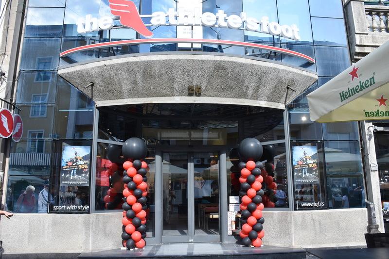 Otvorena prodavnica moderne sportske obuće The Athlete's Foot