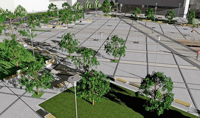 Ove godine Leskovac dobija trg, Postrojenje za prečišćavanje otpadnih voda i početak radova na stadionu