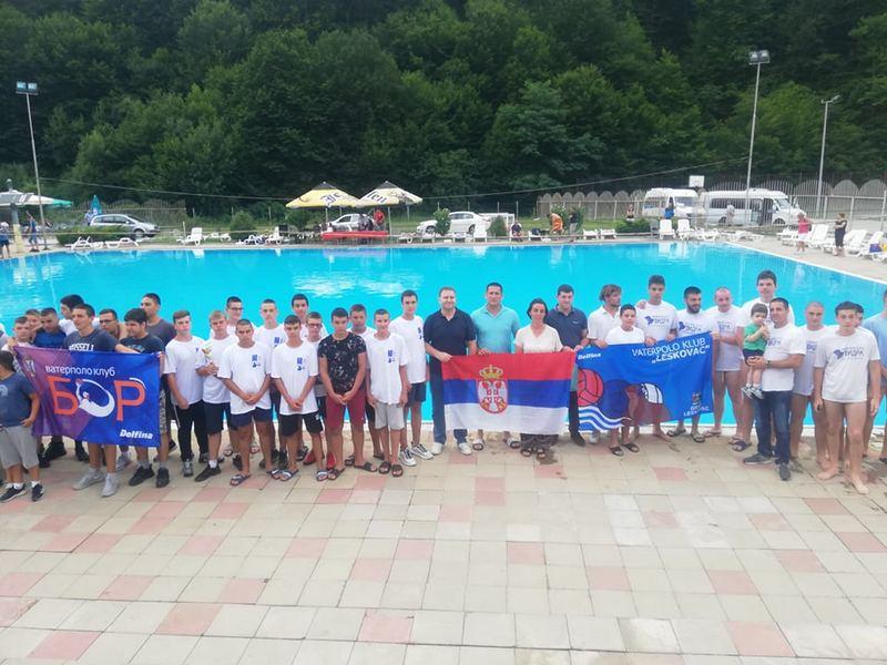 Leskovac pobednik Međunarodnog vaterpolo turnira u Sijarinskoj Banji