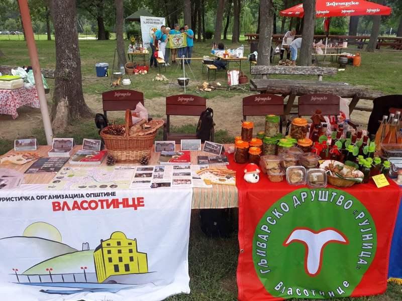 Promocija Vlasotinca na Gljivarskoj trpezi