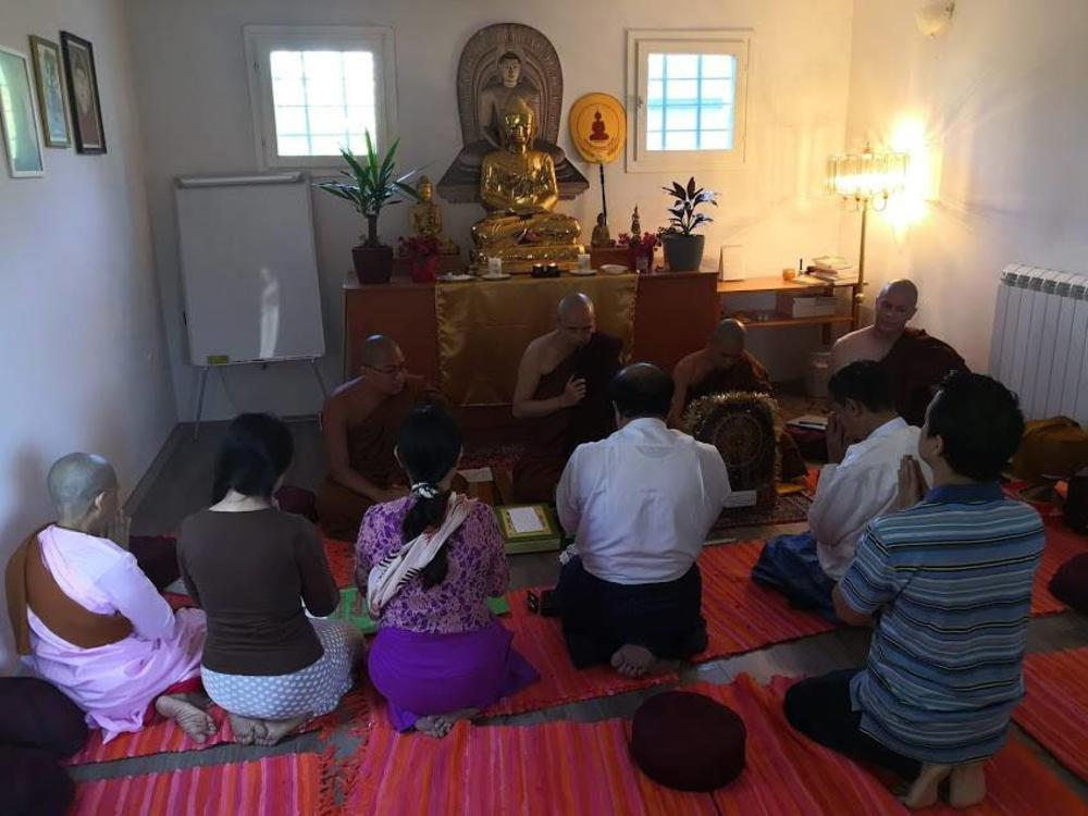 Nišlija prvi Srbin koji se zamonašio u budističkom hramu