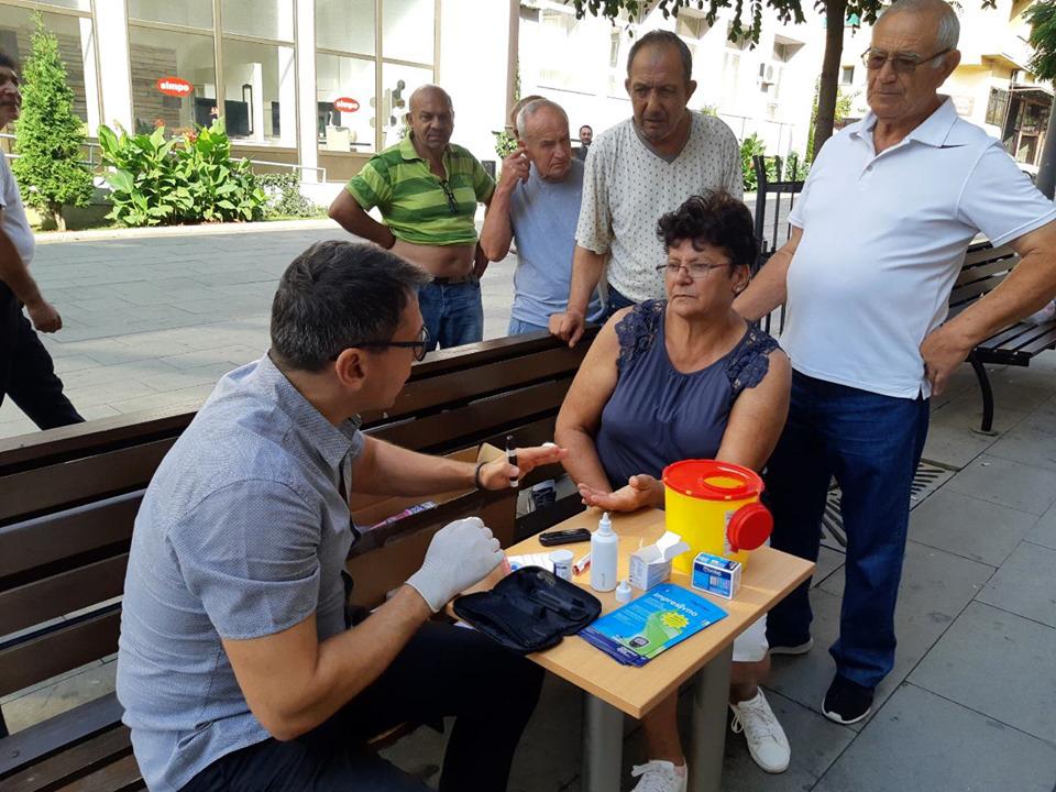 Besplatno merenje šećera u krvi za građane