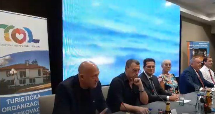 Promocija Roštiljijade u Beogradu – Lepa Brena: Leskovac je postao veliki turistički centar