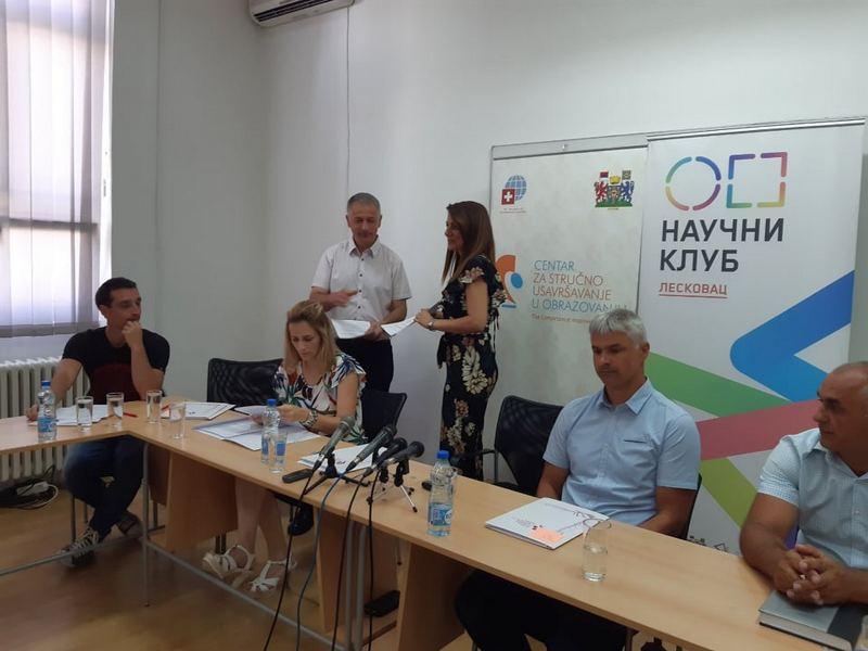 Centar za promociju nauke odobrio 608, 5 hiljada dinara za popularizaciju nauke u Leskovcu