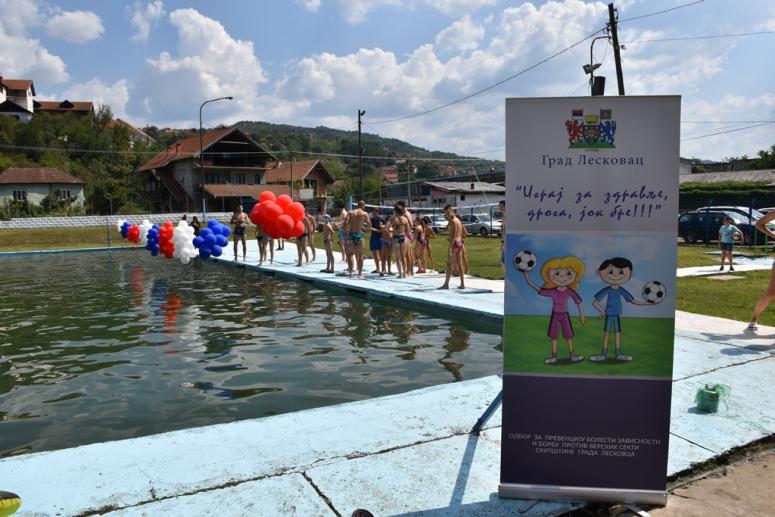 Pobednici prvih Igara na vodi Nina Stanisavljević i Saša Tošić