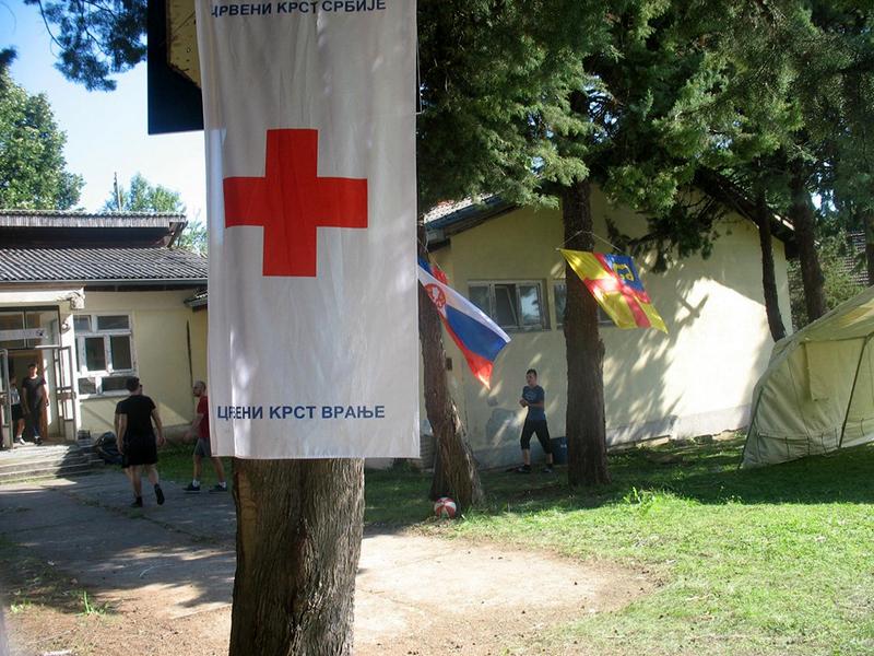 Kamp za terensku jedinicu Crvenog krsta
