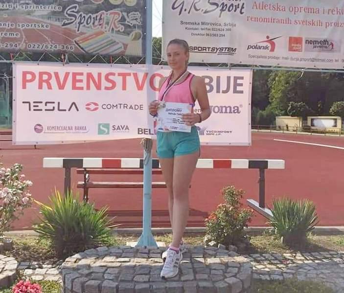 Marija Papović osvojila titulu prvakinje Srbije u atletici