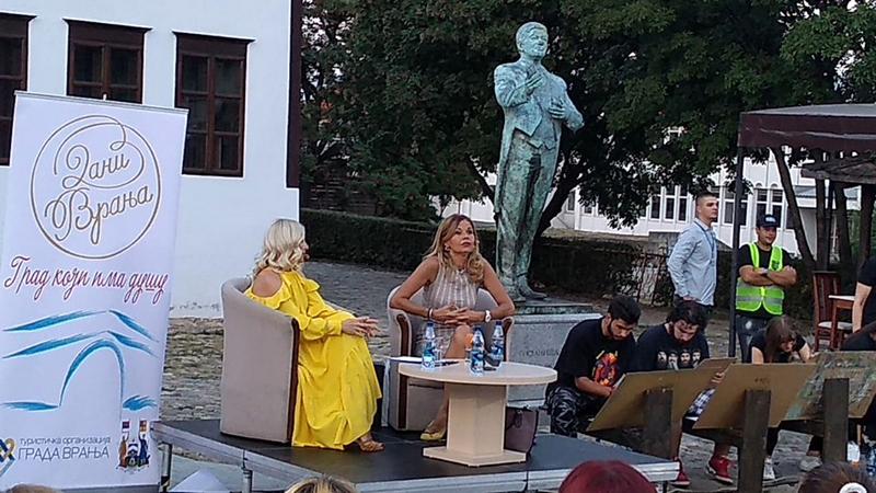 Mirijana Bobić Mojsilović priredila Vranjancima književno veče za pamćenje