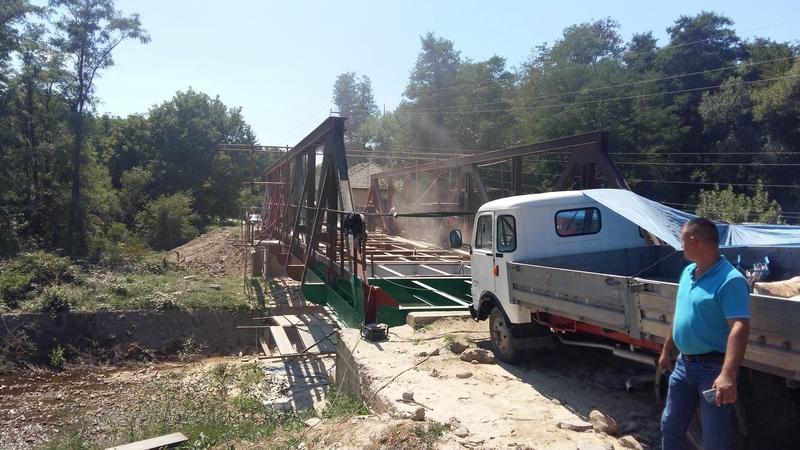 Rekonstruiše se most u Gramađu