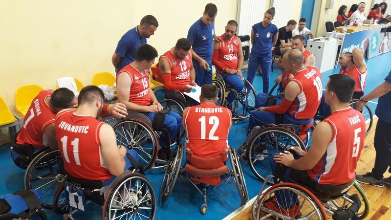 Leskovčanka i Nišlija pomogli košarkašima u kolicima da osvoje srebro na Evropskom prvenstvu
