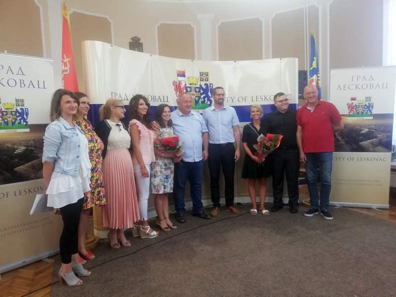Predstavnici slovenčkog grada Vrhnika u poseti Leskovcu