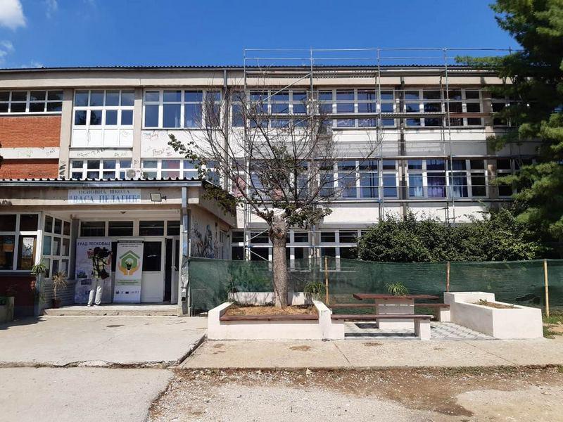Rekonstruiše se škola Vasa Pelagić, deca od septembra u svojim klupama