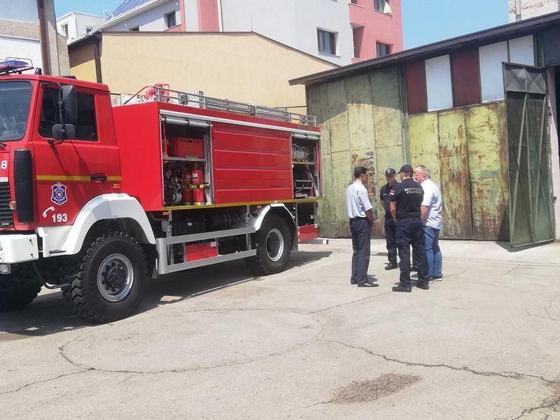 Leskovački vatrogasci dobili još jedno vozilo od MUP-a