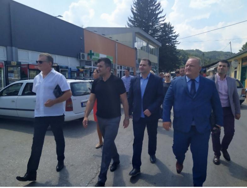 Posle Lončara opštinu Medveđu posetio i ministar Zoran Đorđević