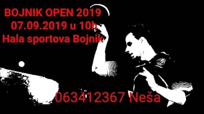 Stonoteniski turnir u Bojniku
