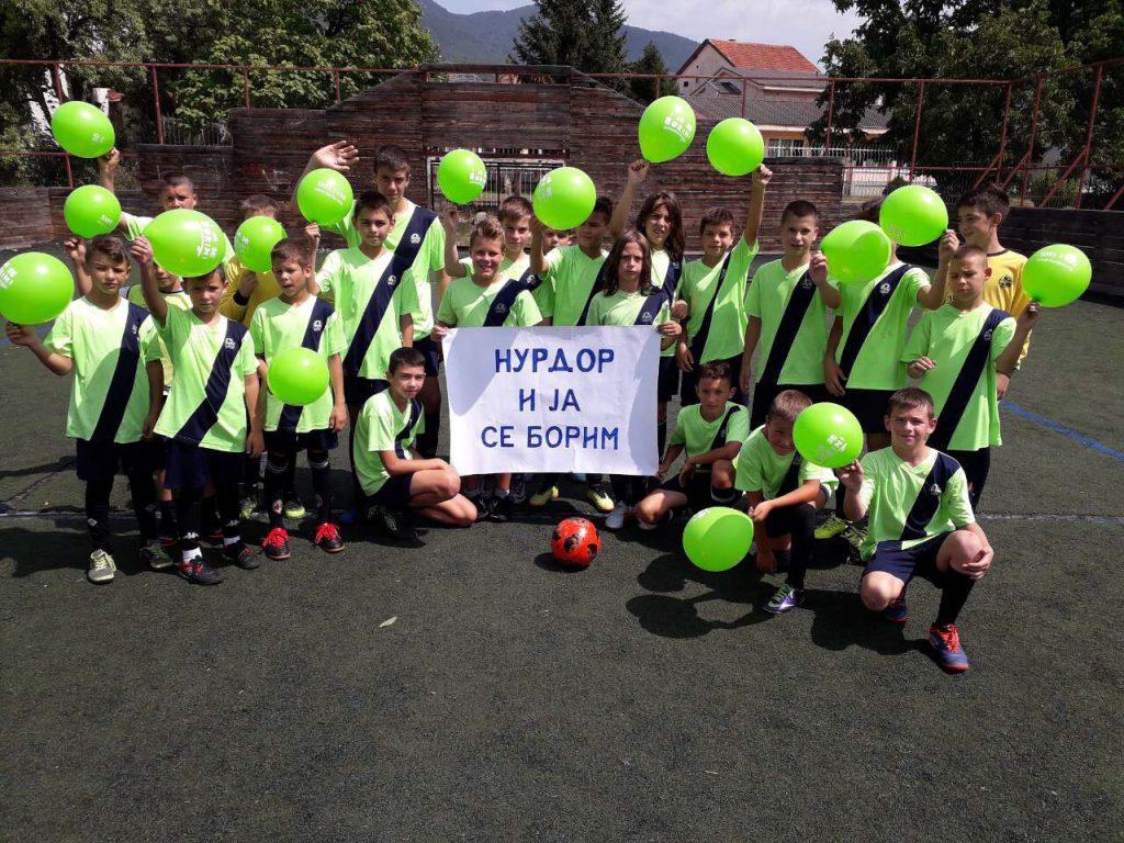 Decu učimo fudbalu i humanosti