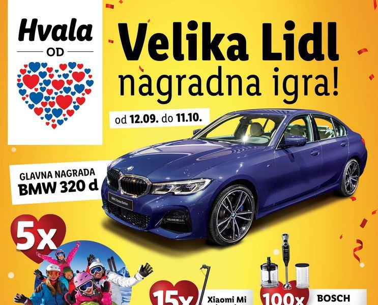 Za pobednika u nagradnoj igri Lidla automobil BMW