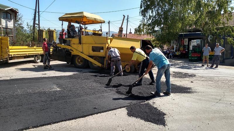 Za asfaltiranje deonice puta Bresnica – Osatica 3,2 miliona