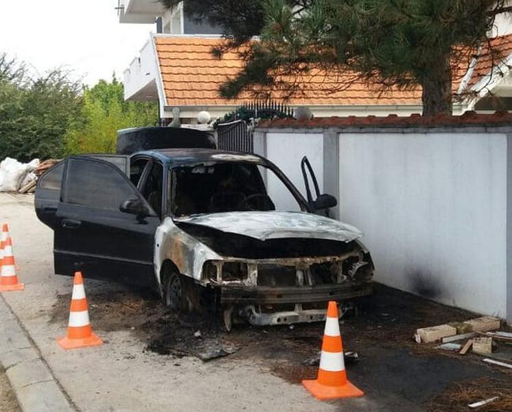 Izgoreo službeni automobil predsednika suda