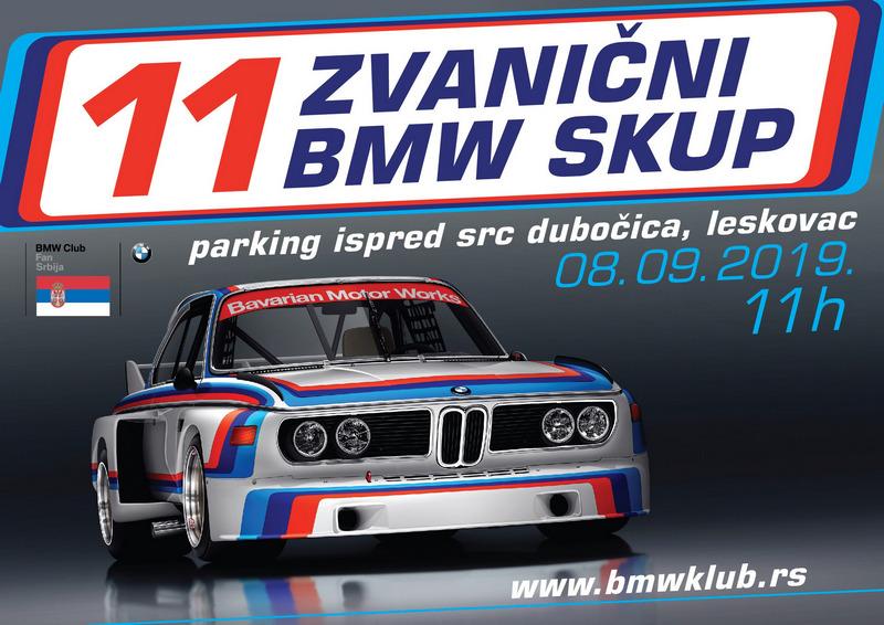 BMW skup u nedelju u Leskovcu