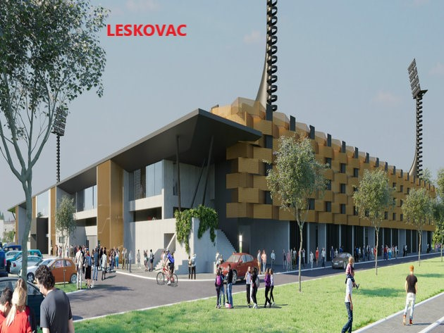 Raspisan tender za gradnju stadiona i u Leskovcu