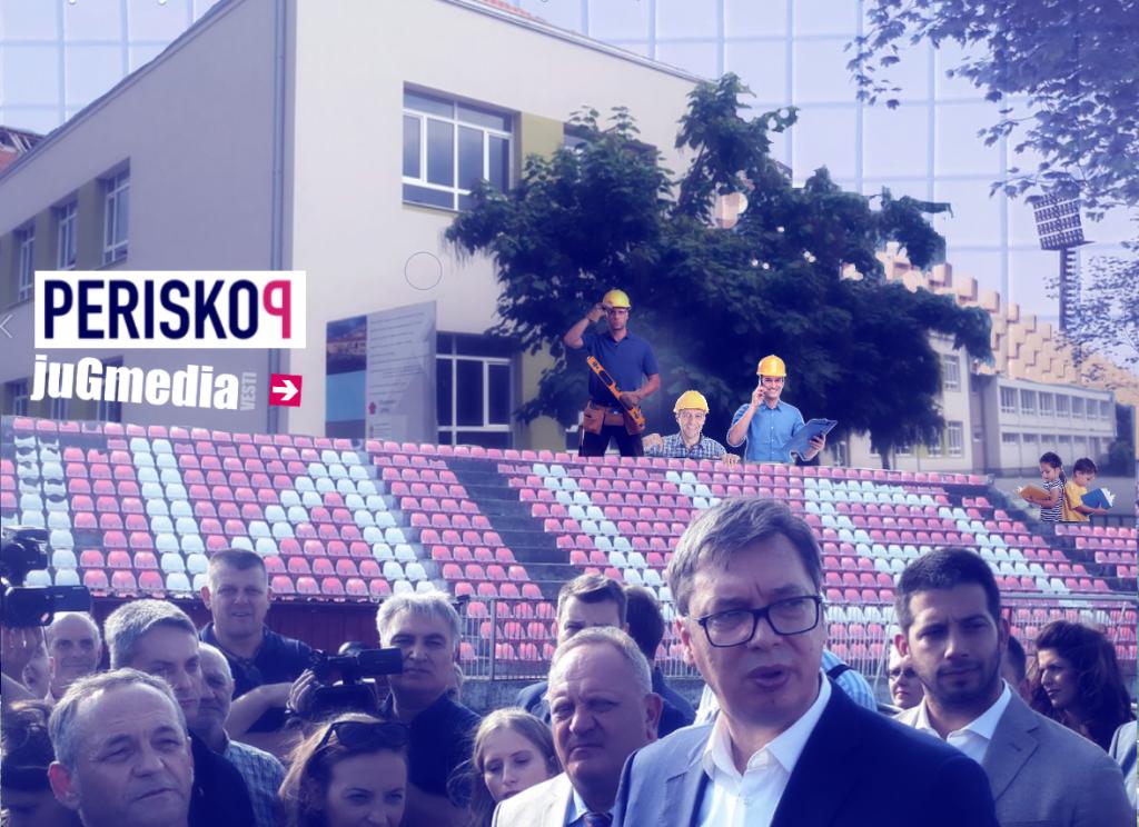 Slobodan Leskovac po UEFA standardima bez đačkih klupa