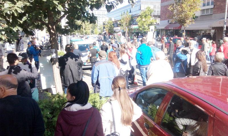 Protest Piroćanaca ispred Skupštine kao podrška odbornicima za zabranu izgradnje MHE