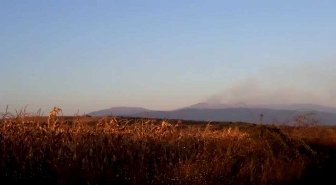 Požar na vrhu Suve Planine gase 23 vatrogasca uz pomoć dva helikoptera
