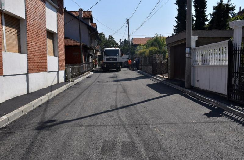 Rekonstruisane Radanska i Sutjeska ulica