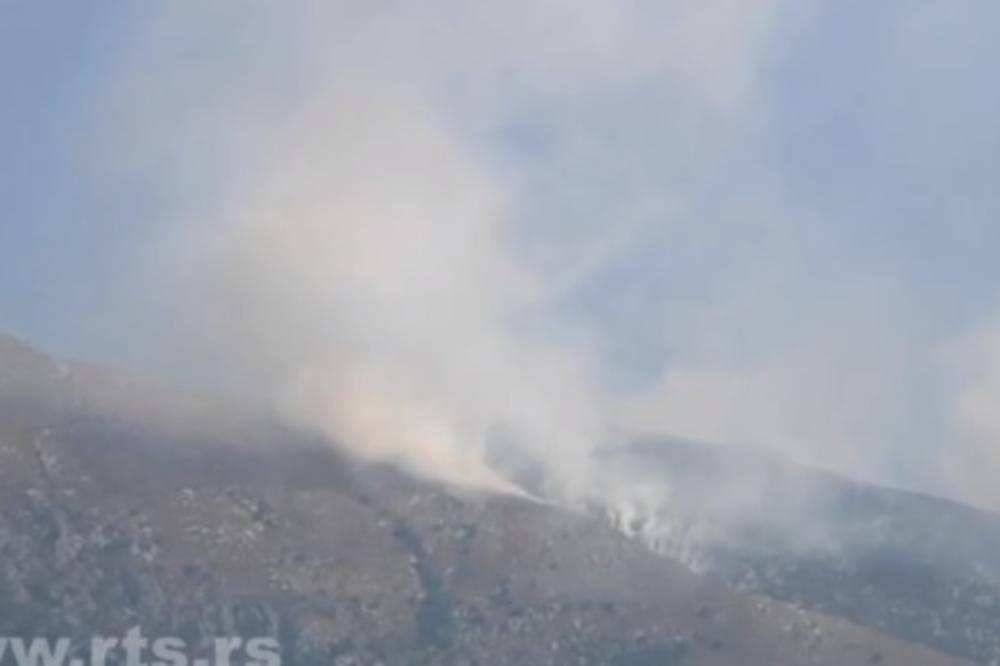 Lokalizovan požar na Suvoj planini