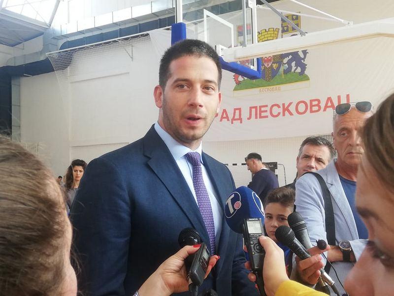 Vanja Udovičić jedan od dobitnika Oktobarske nagrade grada Leskovca