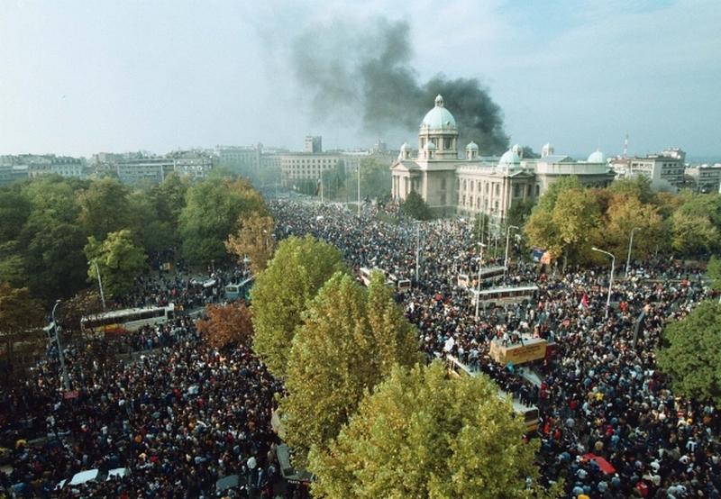 DS: Da nije bilo 5. oktobra ne bilo ni Srbije