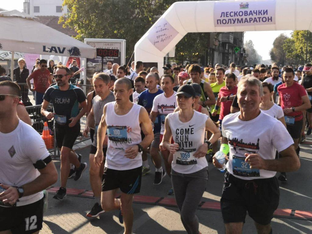Beograđani pobednici Leskovačkog polumaratona – (VIDEO)