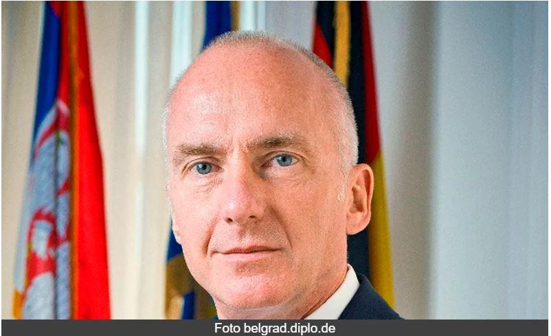 Novinari zamoljeni da sutra ne postavljaju pitanja ambasadoru Nemačke