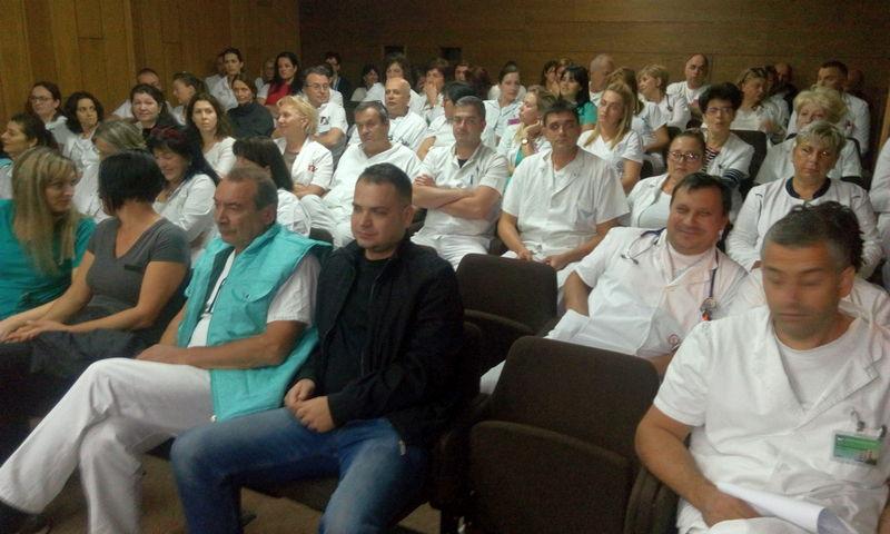 U Bolnici od sutra štrajk upozorenja, ne odsutaju od smene direktora