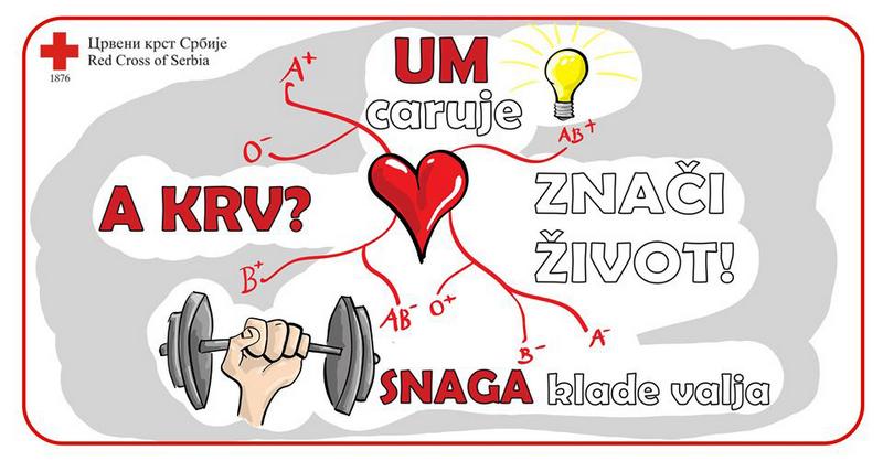 Akcija davanja krvi u Leskovcu i Vranju