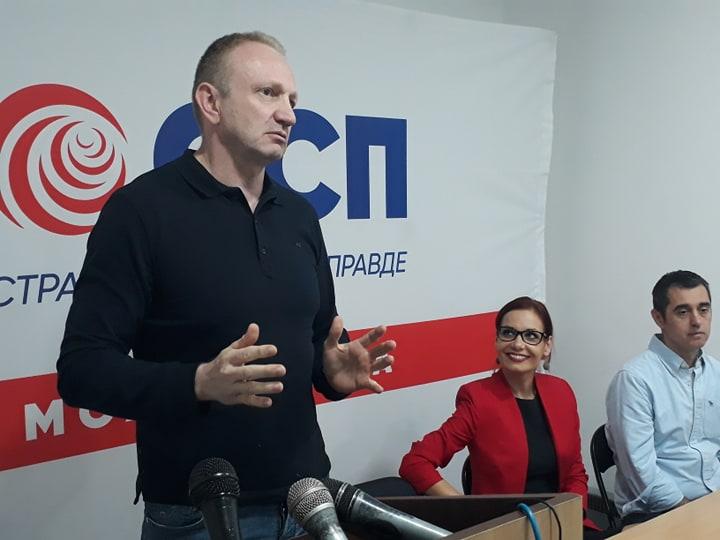 Đilas u Leskovcu: Ovo je bojkot protiv proterivanja Miodraga Stojkovića i robovlasničkih stranih investitora