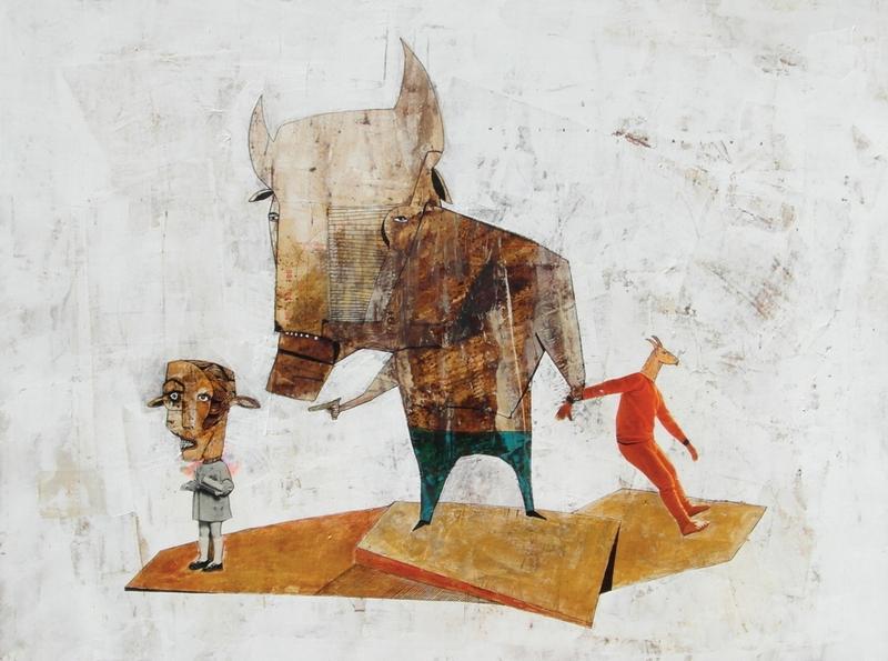 Slike i crteži Marine Milev na izložbi u leskovačkom muzeju