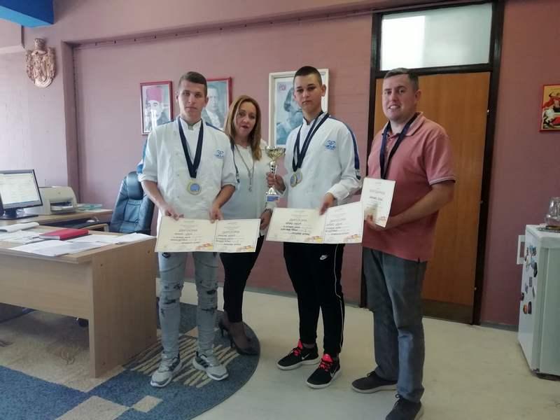 Nagrade za buduće kuvare iz Leskovca