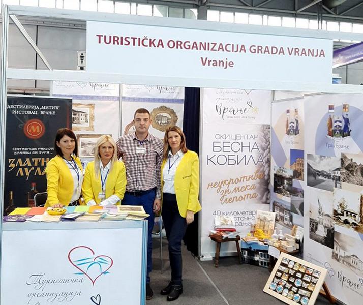 Turistička organizacija grada Vranja na sajmu turizma u Novom Sadu